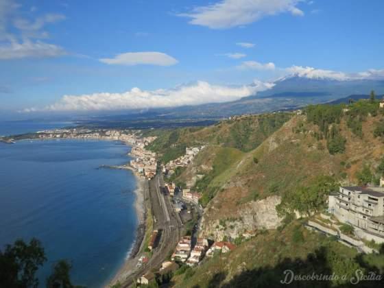 Vista de Taormina