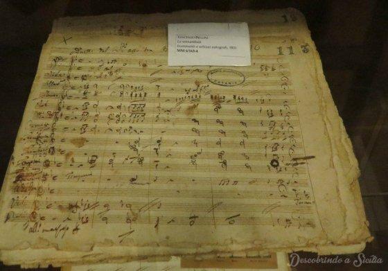 Partituras originais de La Sonnambula