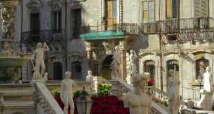 Fontana Pretoria em Palermo