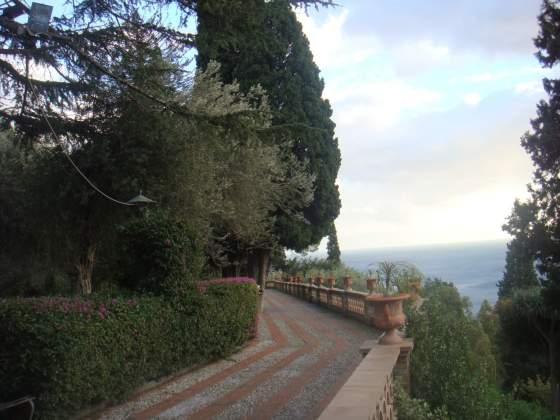 Jardim Público em Taormina