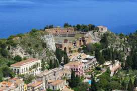 Passeio em Taormina