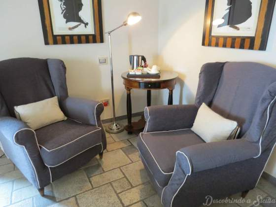 Quarto Hotel Villa Carlotta Taormina