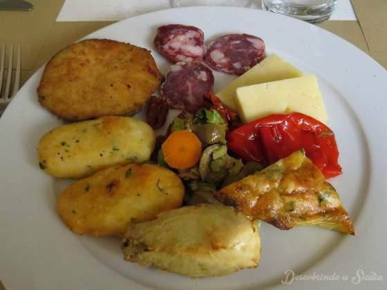 Antipasto rustico siciliano