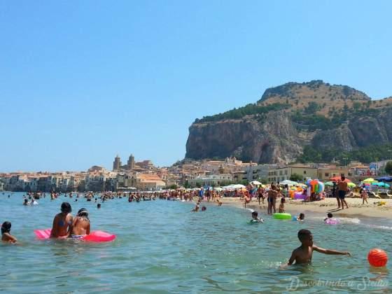 Praia de Cefalù, Sicilia