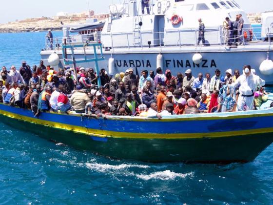 Imigrantes africanos na Sicília