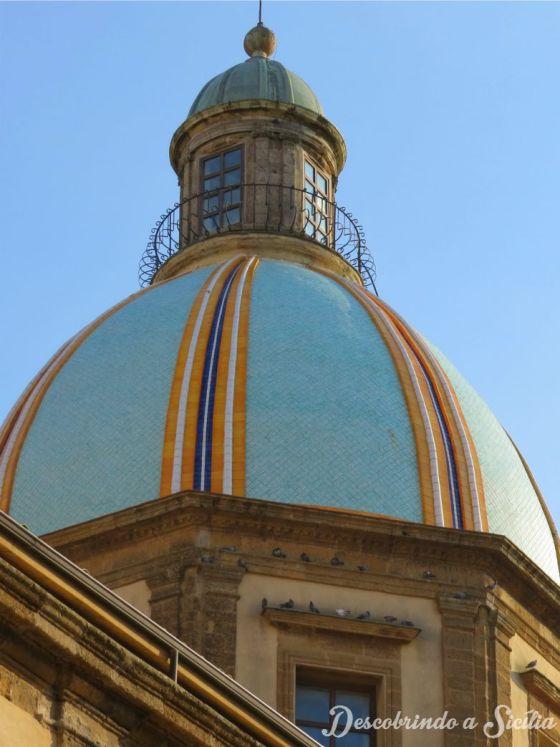Cúpula Catedral de Caltagirone