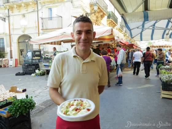Mercado de Ortigia: Caseificio Borderi