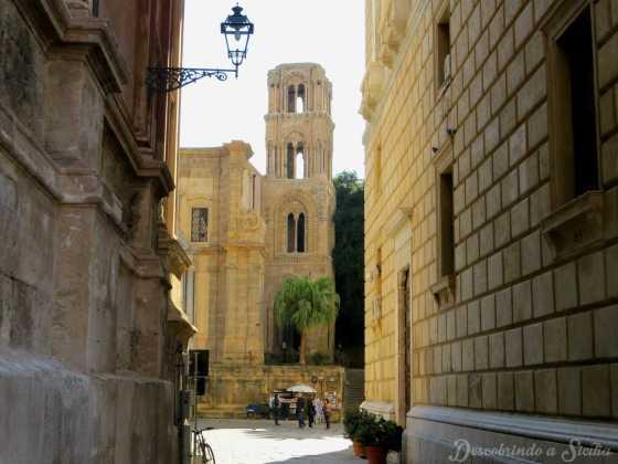 Torre Campanária da Igreja da Martorana, em Palermo