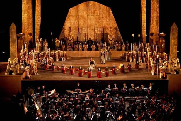 Ópera no Teatro Grego de Siracusa