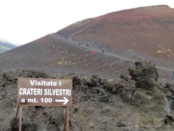 Excursão ao Etna: Crateras Silvestri