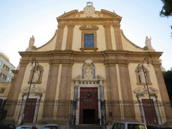 Chiesa del Gesù, em Palermo