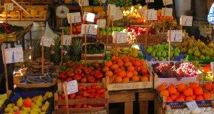 Ballarò, um dos mais antigos mercados de Palermo, Sicilia
