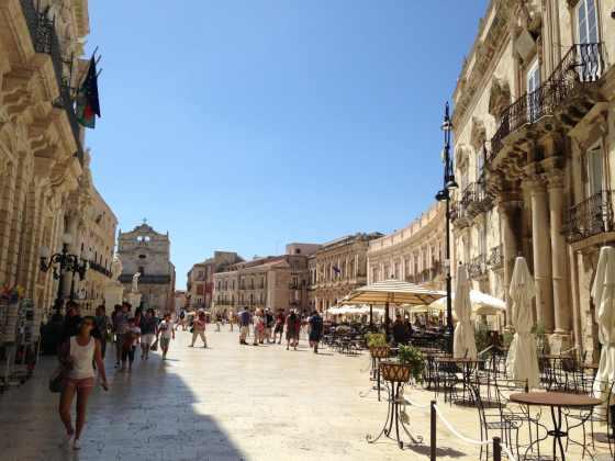 Piazza Duomo em Ortigia - Foto: Luana Camargo