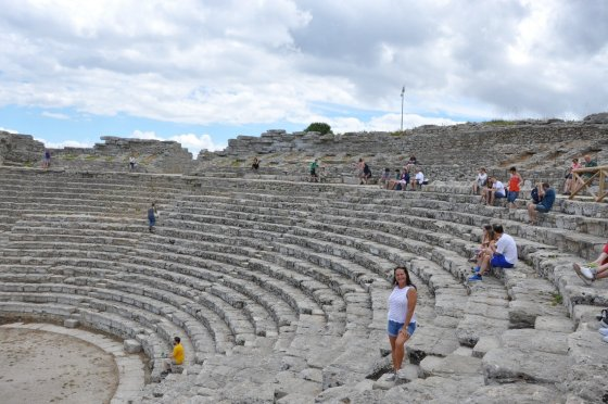 Teatro Grego de Segesta - Foto: Adriana Ferreira