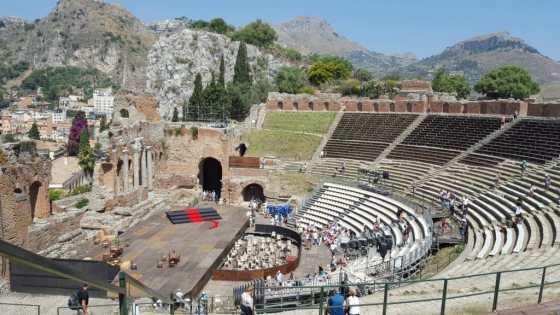 Teatro Grego de Taormina - Foto: Adriana Ferreira