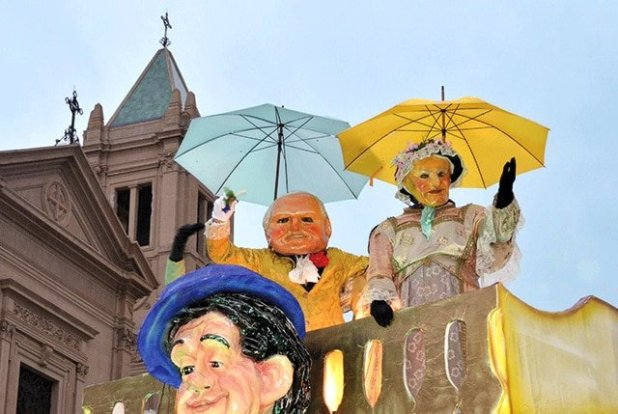 Carnaval na Sicília - Termini Imerese
