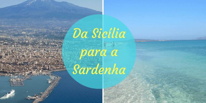 como ir da Sicília para a Sardenha