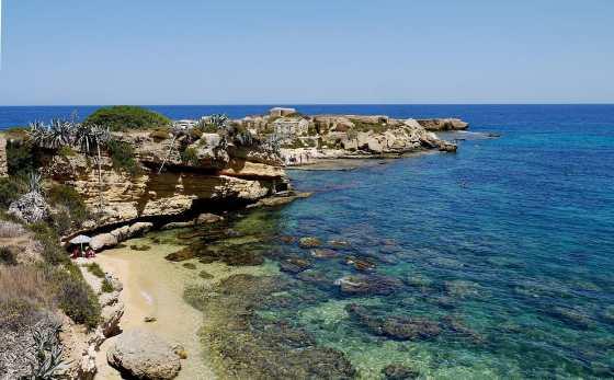 Snorkeling na Sicília: Plemmirio