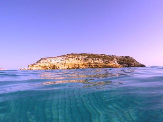 Isola dei Conigli Praia dos Coelhos em Lampedusa