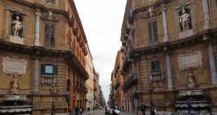 Quattro Canti em Palermo
