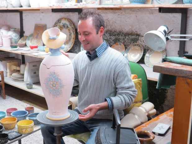 cerâmica siciliana em Caltagirone