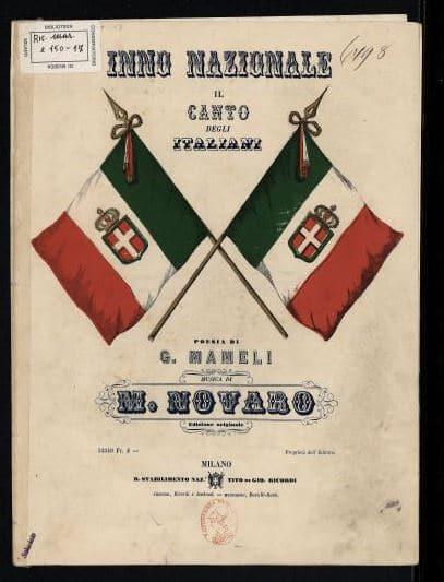 hino da itália