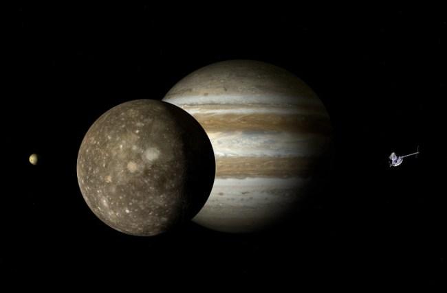 Europa, a Lua de Galileu, que pode abrigar vida