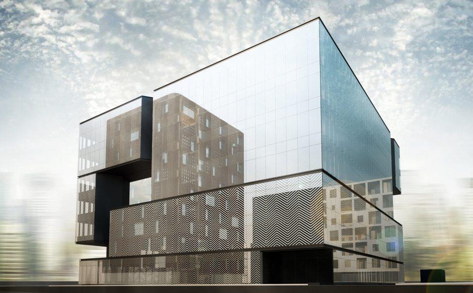 Verslo centras ARKA, BIM projektavimas, Descon