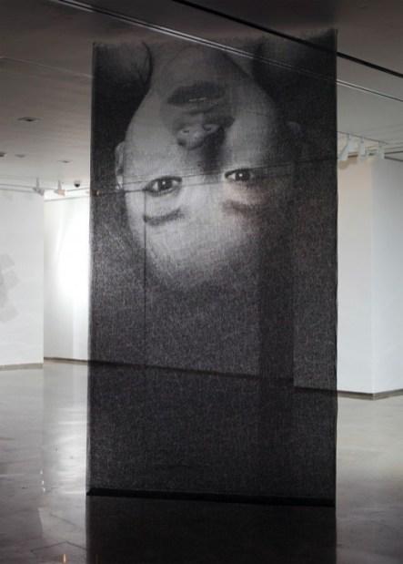 Park Seung Mo retrato con alambre 4