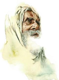 an-old-baba-india