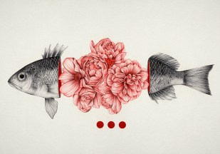 Peony yip - the white deer - To Bloom Not Bleed 1
