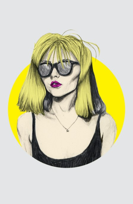 Veriette Illustration - Debbie Harry for boom magazine