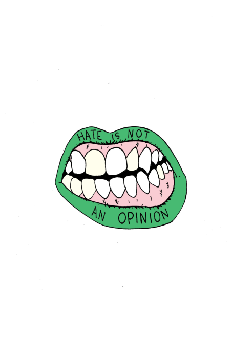 France Corbel - hate is not an opinion