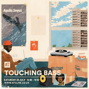 Joe Prytherch - Touching bass - JUL 2016