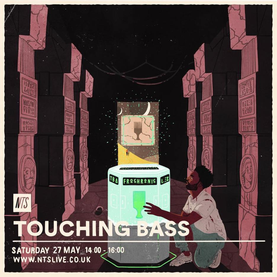 Joe Prytherch - Touching bass - MAY 2017