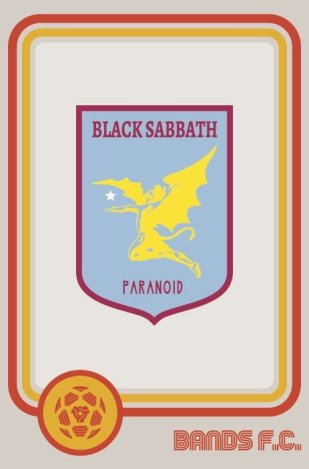 Bands FC - Black Sabbath