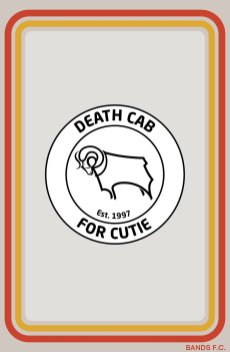 Bands FC - Death cab for cutie
