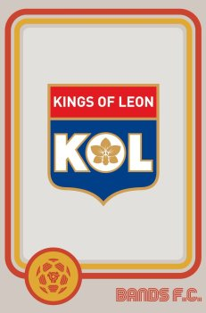 Bands FC - Kings of leon