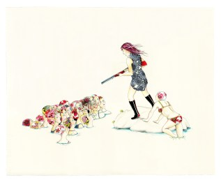Delphine Lebourgeois - The girl has a gun 4