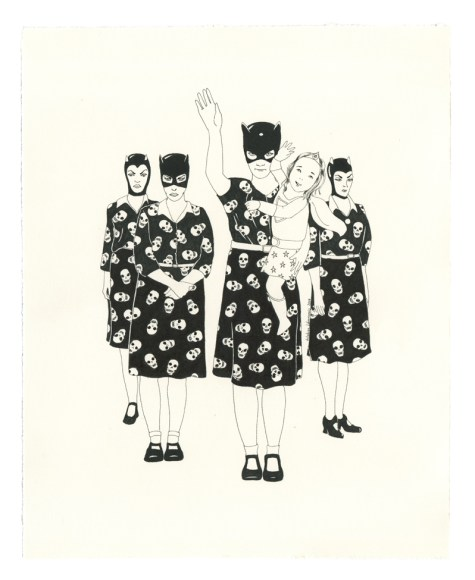 Delphine Lebourgeois - heroes and villains 3
