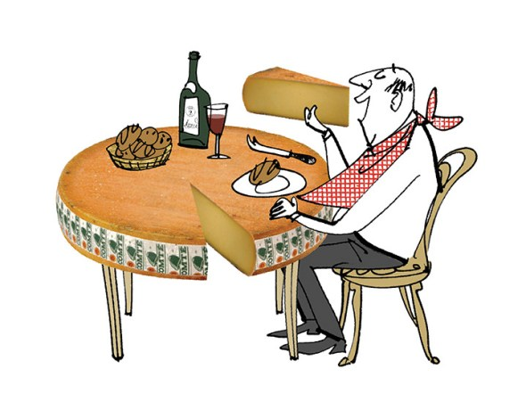 MH Jeeves - cheese table