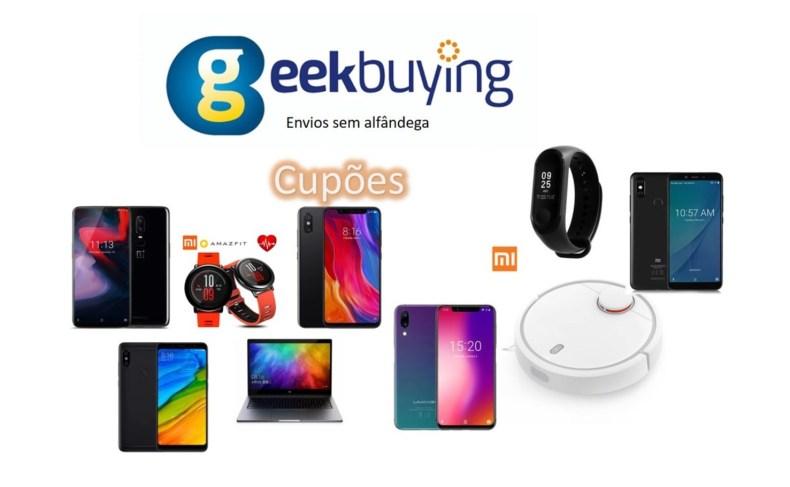 Geekbuying Cupões Atualizados