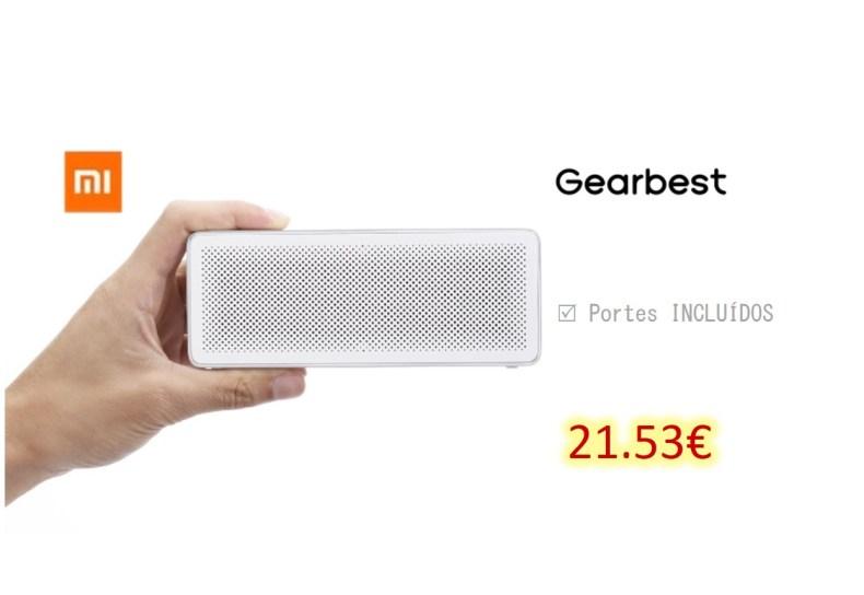 Xiaomi XMYX03YM Bluetooth 4.2 Speaker - SILVER