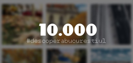Descopera Bucurestiul - 10.000 de followers in 5 luni