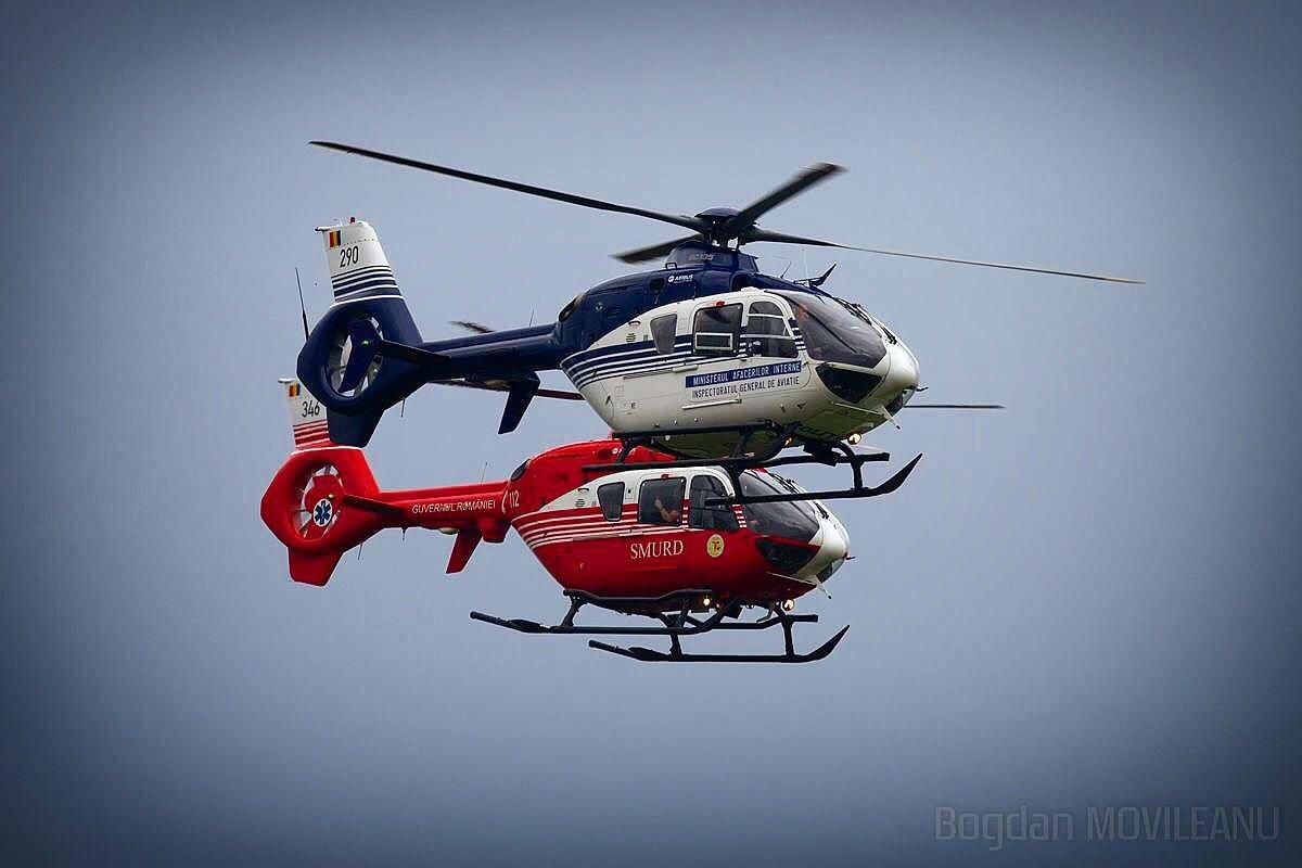 Bucuresti - Elicoptere Smurd