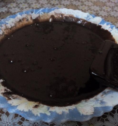 Glazura cu cacao