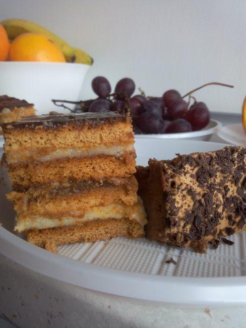 Prăjitura obținută
