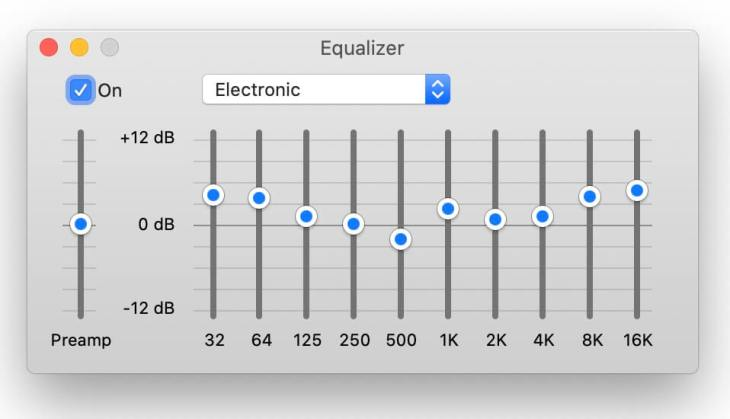 best equalizer settings - electronic