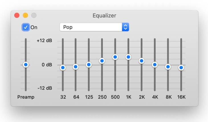 best equalizer settings - pop