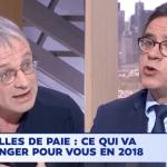 Sur LCI, le 29 janvier, en débat avec Jean-Pierre Mercier (CGT PSA)